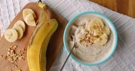Замороженный йогурт с баноном