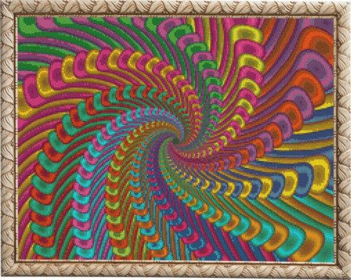 Abstract Cross Stitch Pattern, Abstract Chart, Modern Counted cross stitch pattern , Instant download PDF by NattikStudio on Etsy