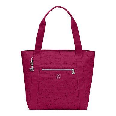Tote Bag - Luminescent Floral Red by VIDA VIDA F3oInwD
