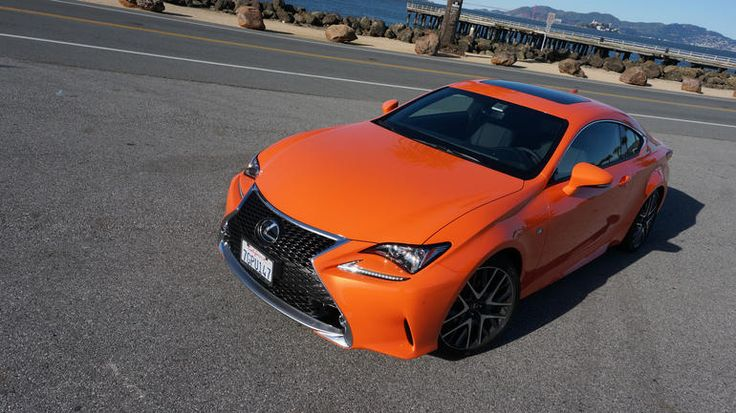 2015 Lexus RC 350 F Sport review Wildstyled Lexus coupe