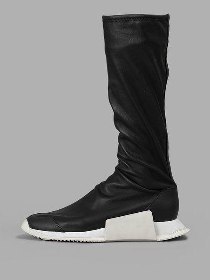 Rick Owens Men's Black Level Sock
