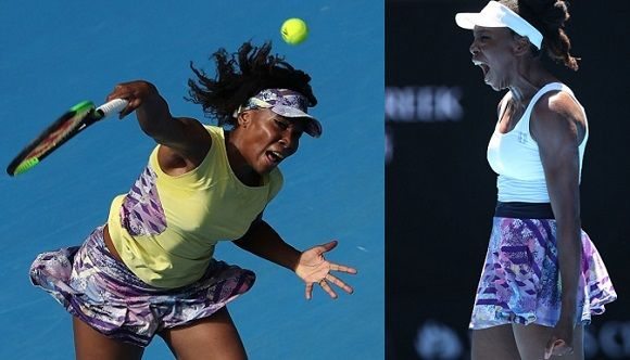 Venus Williams's #EleVen Thika collection for #AusOpen2017