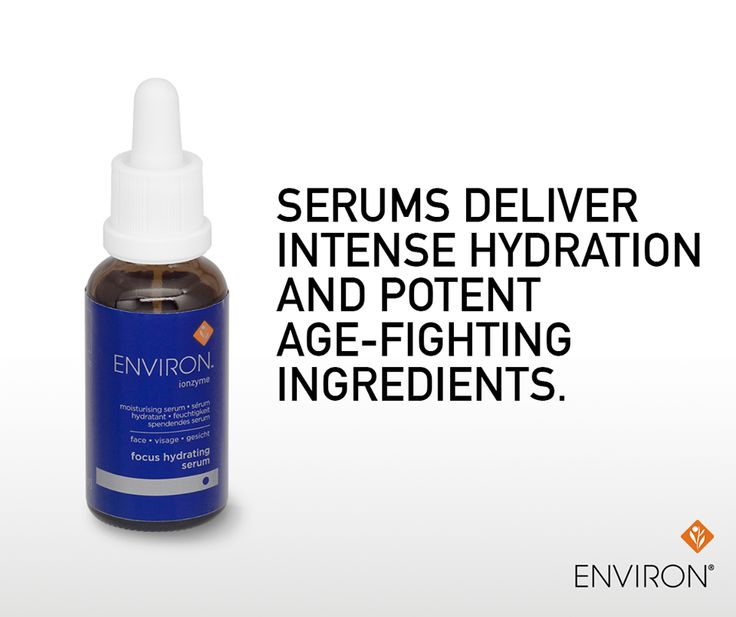 "Serums are best applied underneath your moisturizer. Products should always be applied in a ""lightest"" to ""heaviest"" order"