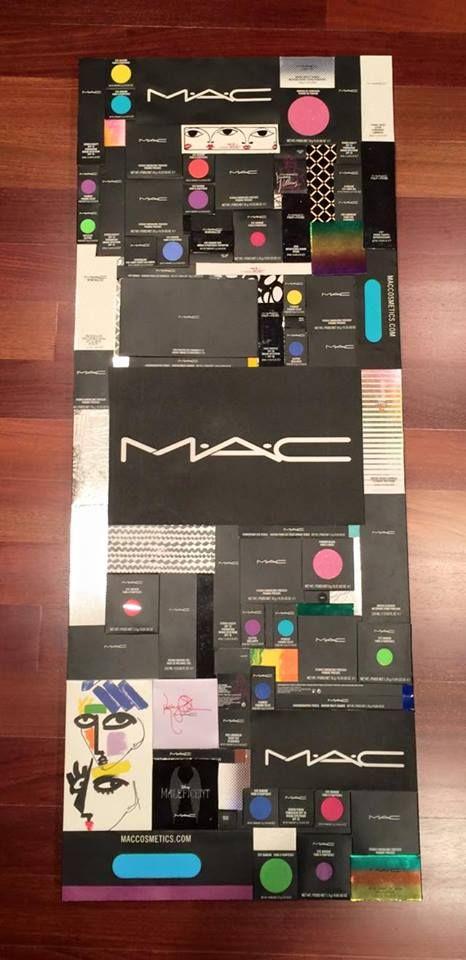 MAC makeup boxes collage