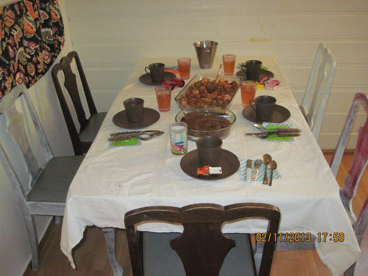 valentines supper: lasagne & chocolate cake