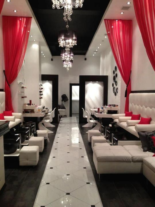 if there was to ever be a full on rumour has it nail salon this nail bar decornail - Nail Salon Interior Design Ideas