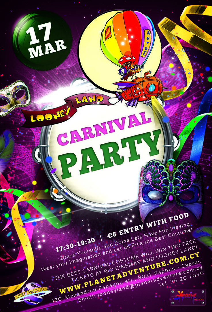 Looney Land 2013 Carnival Party