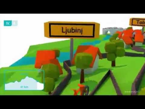 Bike route attractive video animation - english version - YouTube