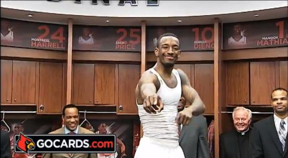 Russ Smith and Louisville Basketball Harlem Shake