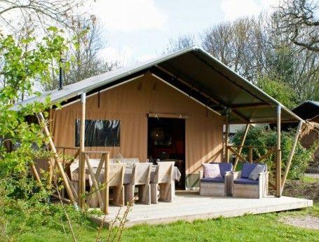 Sea Lodge in Egmond | Kamperen in de duinen | ZOOK.nl # glamping #safaritent