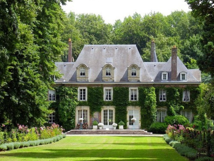 French normandy style country estate in asheville nc for French country house style
