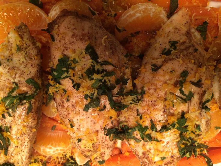 Chicken  tangarine