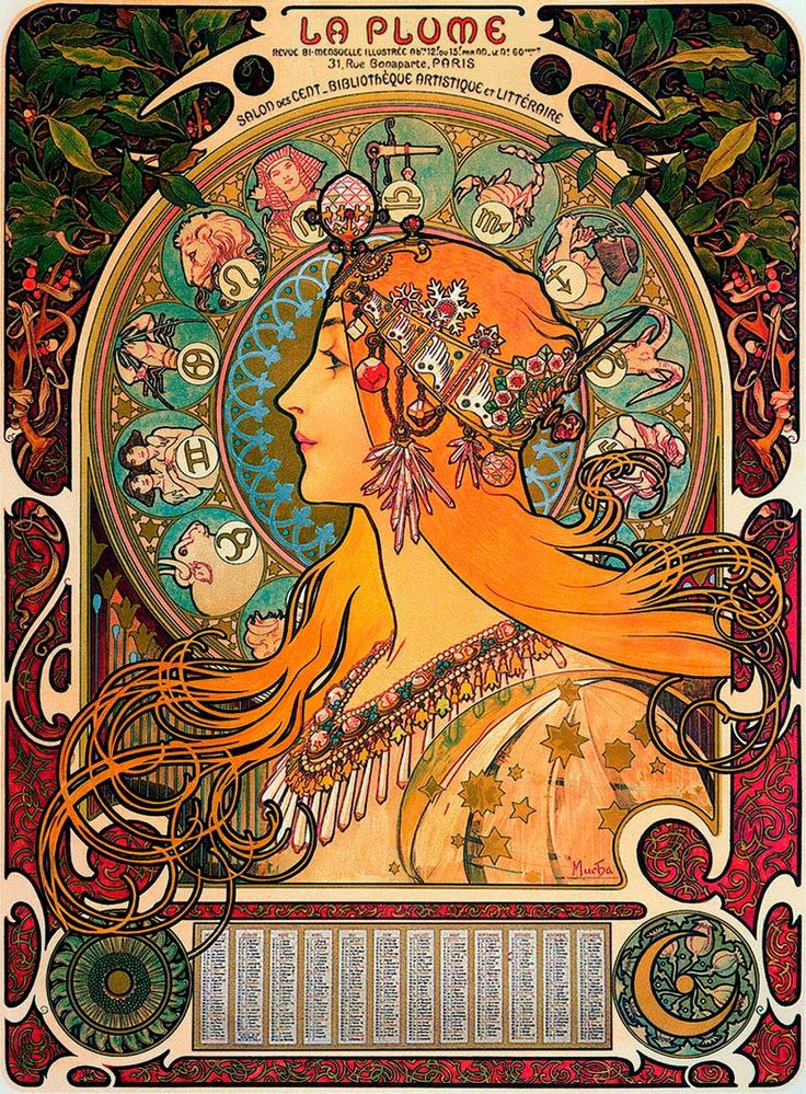 Mucha✖️More Pins Like This One At FOSTERGINGER @ Pinterest✖️