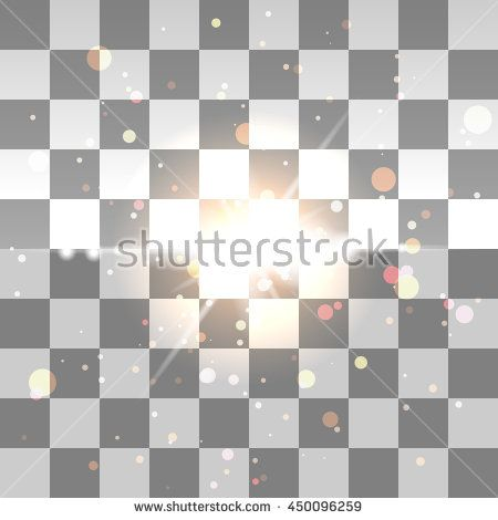 glitter particles background effect. Sparkling texture. Stardust sparks in explosion on transparent background. Vector Illustration - stock vector