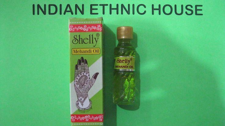 2 X Shelly Mehandi Henna Oil Mehndi For Darkening Henna - Body Paint Kit Tattoo