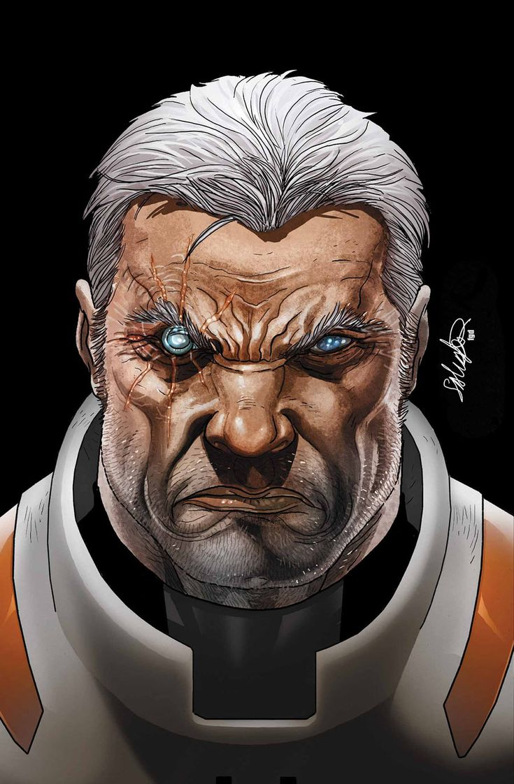 Cable Superhero   Cable and X-Force Vol 1 16 Textless