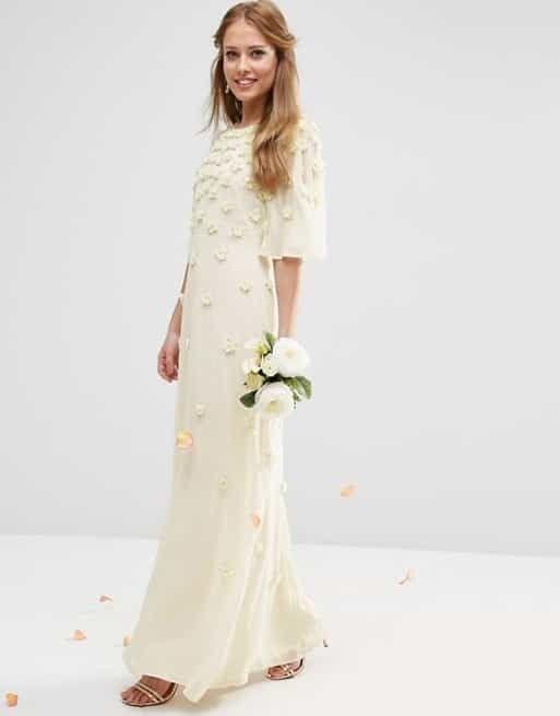 """Si vas a dar el """"sí"""" por civil, ¡mirá estas ideas para tu vestido de novia!"""