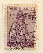 Angola 1932 Early Issue Fine Used 10c. 105750