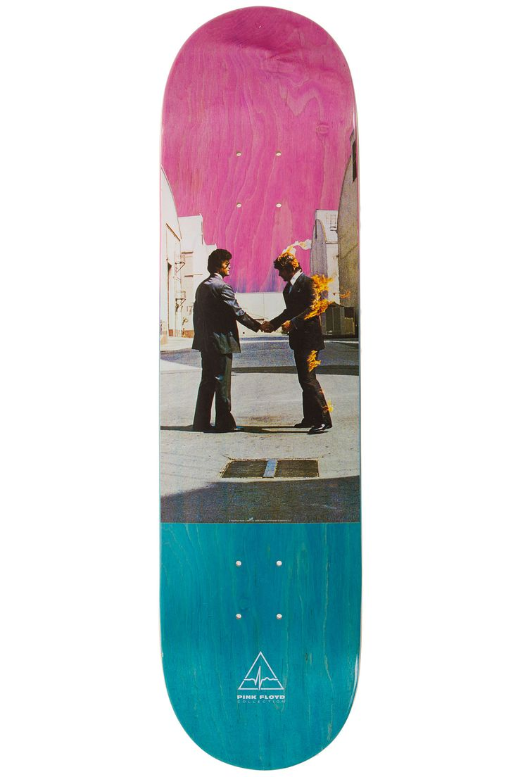 "Habitat x Pink Floyd Wish You Were Here Stain Fade 8.25"" Deck (natural)"