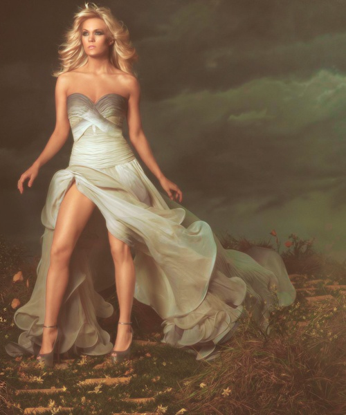 Carrie's Blown Away Album Cover; Would Love As A Prom