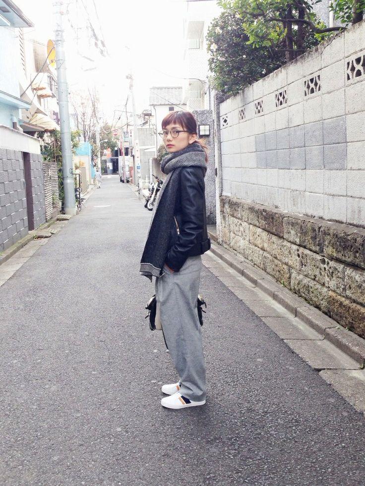 武智志穂さんのコーディネート