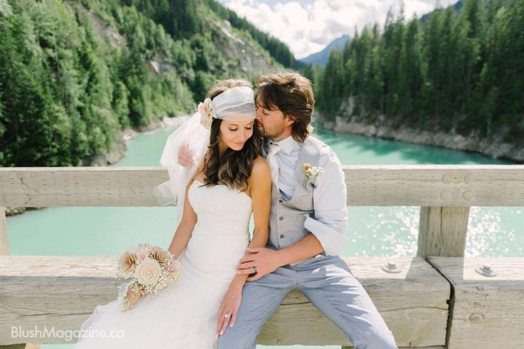 Rustic Heather Mountain Wedding