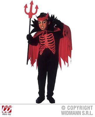 Childrens #devil fancy dress #costume with collar & horns #halloween 158cm,  View more on the LINK: http://www.zeppy.io/product/gb/2/351050126202/