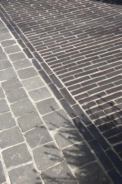 Paving Fotogalerij kleiklinkers (belgian bricks Vande Moortel that Elke showed me)