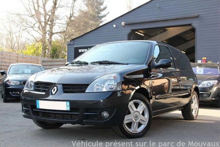 renault clio diesel 2008 noir 119052 km occasions voiture renault v hicules. Black Bedroom Furniture Sets. Home Design Ideas