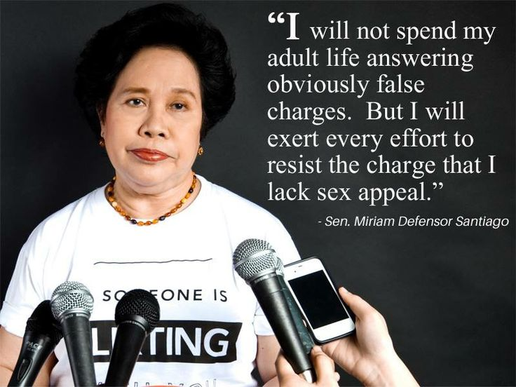 OUR PRESIDENT!!!!! Sen Miriam Defensor Santiago For interesting videos visit us here http://gwyl.io/
