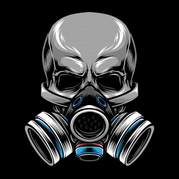 Gas Mask Skull Gas Mask Art Gas Mask Drawing Gas Mask