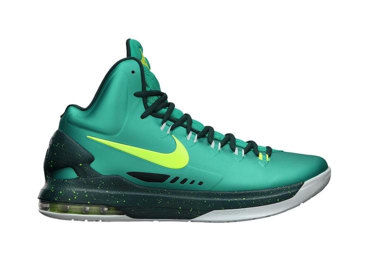 Nike Zoom KD V Mens Basketball #Sneaker #Shoes Atomic Teal / Volt-Dark
