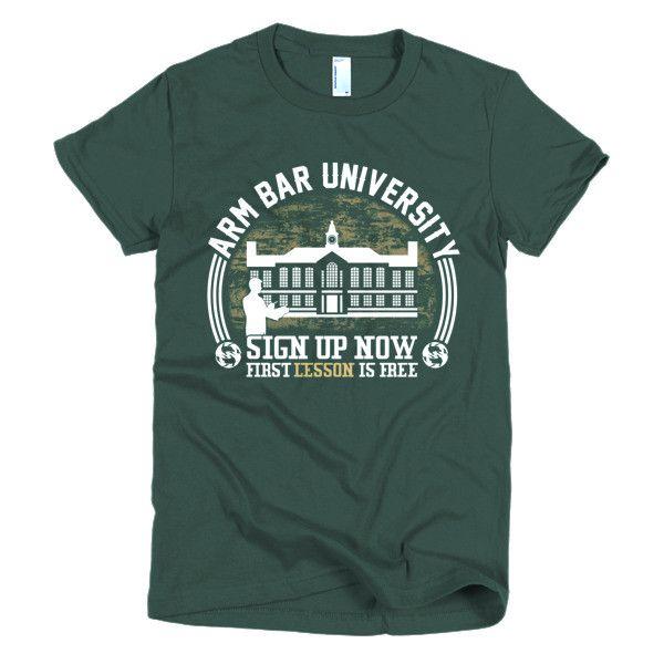 ArmBar University Short sleeve women's Jiu Jitsu t-shirt