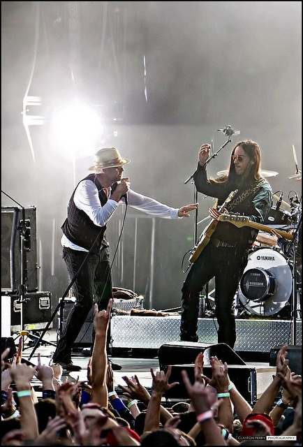 The Tragically Hip. September 7 Millennium Park. I`ve seen the Hip at least twice, maybe three times in Ottawa when they had their Another Roadside Attraction Festival.