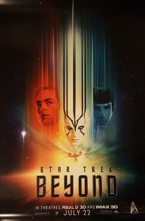 Star Trek Beyond throwback poster