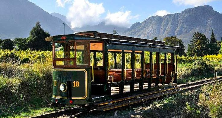 This hop-on-hop-off tour with the Franschhoek Wine Tram is a fun, unique way to experience the breathtakingly beautiful region.