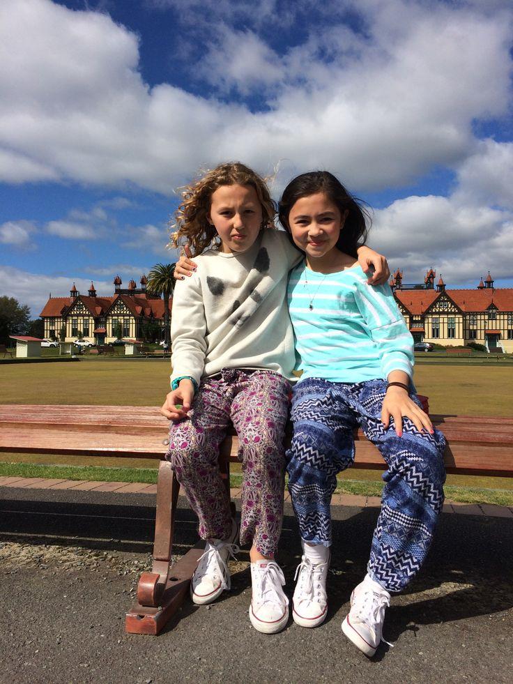 Charlotte and Amelia Rotorua October 2015
