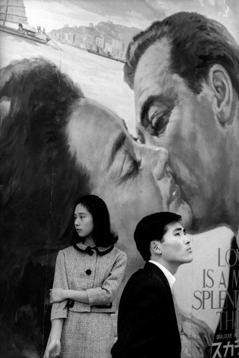 Henri Cartier-Bresson :: Hibiya district, Tokyo, Japan, 1965