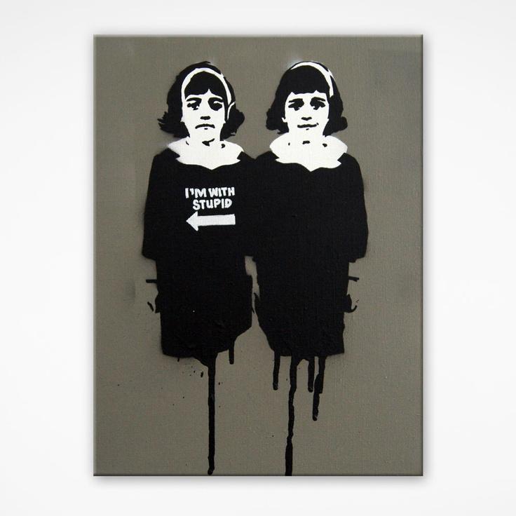 Evil Twins www.spraycancircus.com