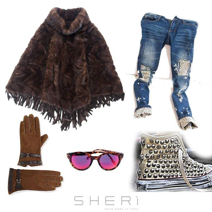 Another #outfit by #sherì  www.sheri.it  #fur #furfashion #look #mode