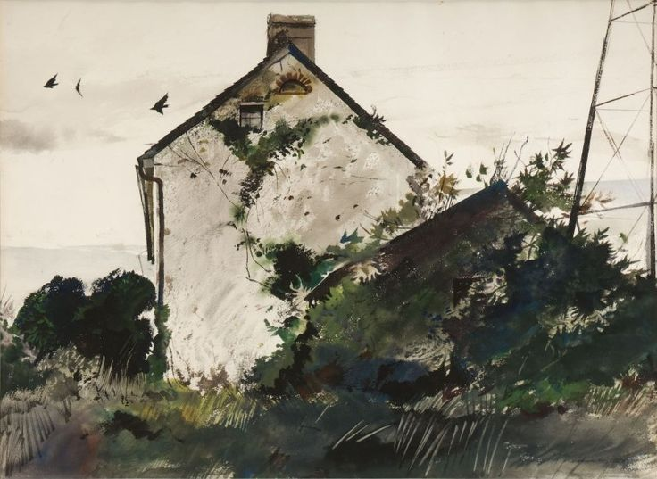 andrew wyeth paintings | Important American Paintings, Prints, and Books Set to Hit Copley's ...