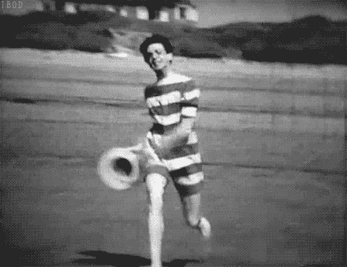 "youknow-i-will: "" thebeatlesordie: "" A wild Paul McCartney "" I'm in love with this gif. His adorableness should be illegal. """