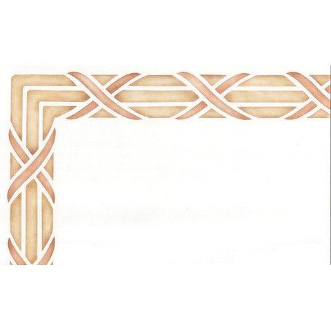 Reed & Ribbon Furniture Stencil