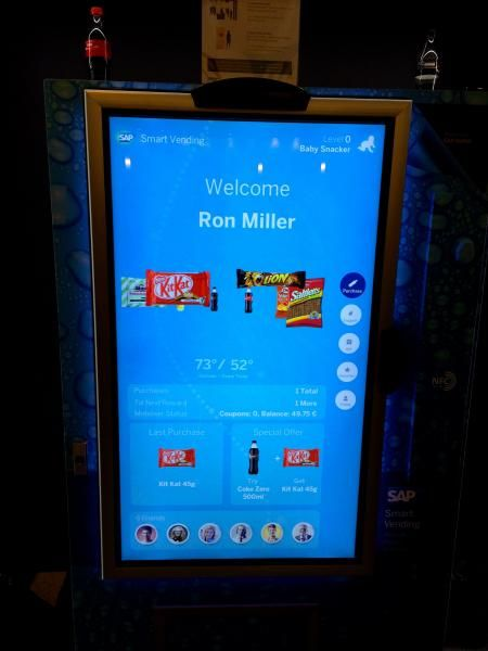 This smart vending machine is the future of technology | CITEworld