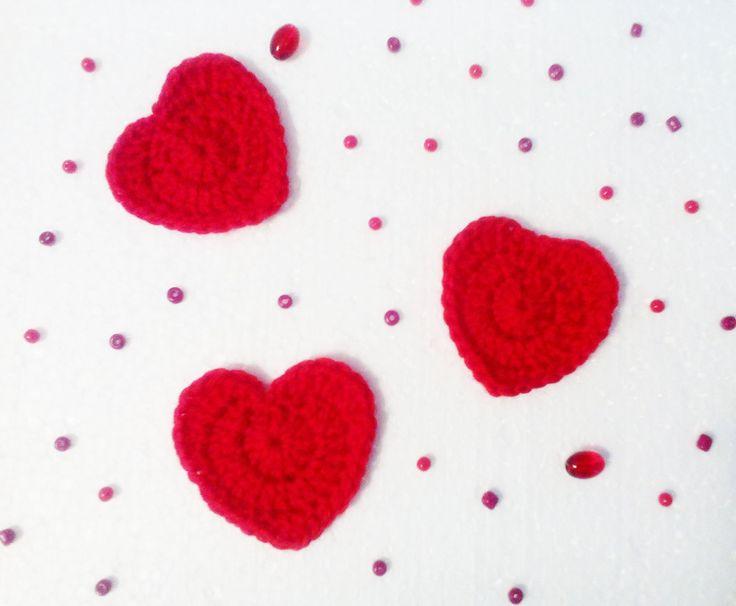 маленькое сердце little heart Crochet