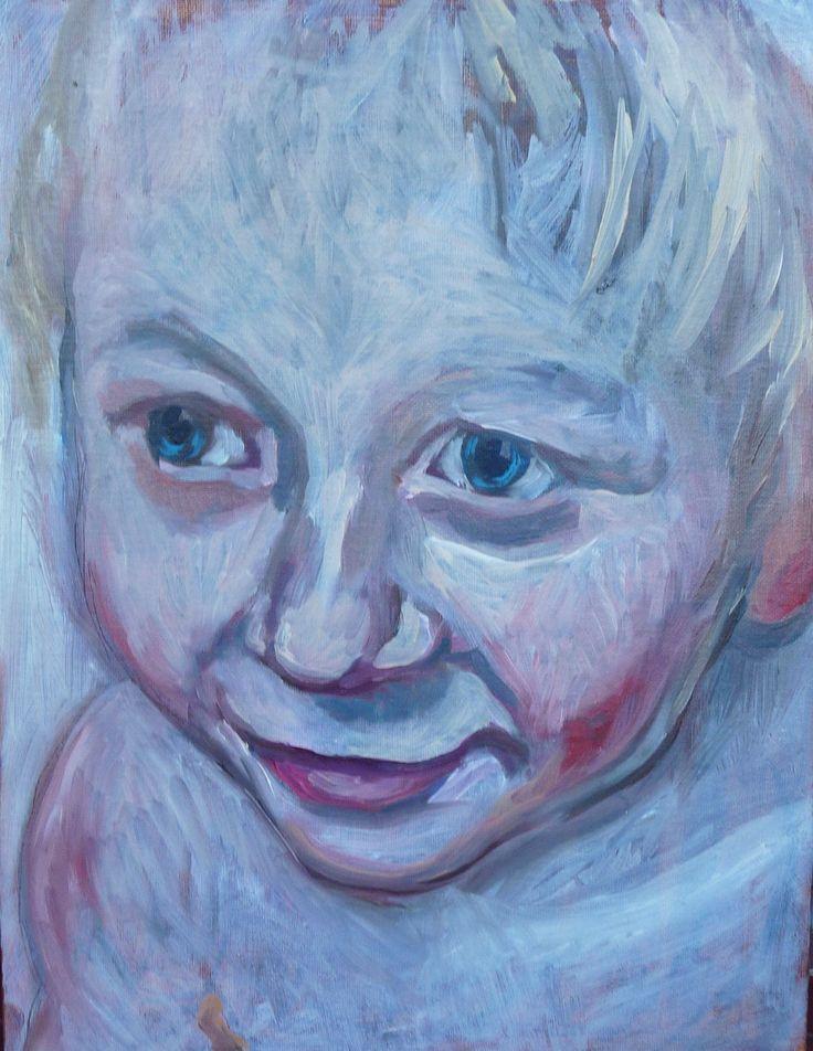 Finn 2014 (Oil on canvas ) Painting