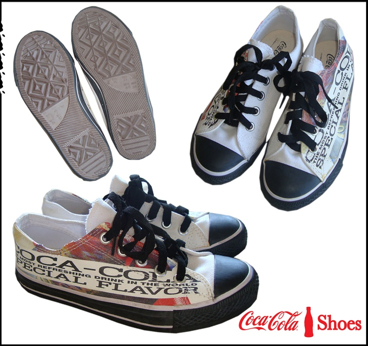 Tênis Coca Cola Shoes: Enjoying A Coca Cola, Cola Shoes, Coke Cola, Cola Collection