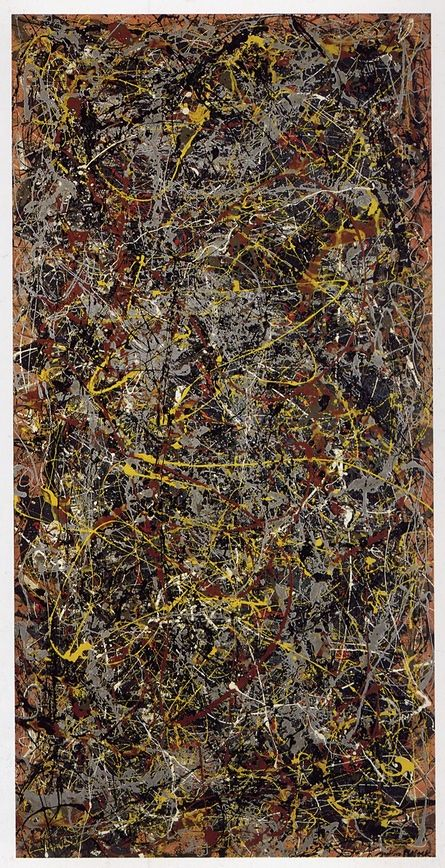 No 5, 1948 by Jackson Pollack. An early Pollock drip painting from the very years when he was perfecting his unprecedented visceral method of creating abstract art by pouring and flicking paint onto a canvas laid out on the ground? Yes, please. Money no object. This is not one of the most satisfying, supreme Pollock masterpieces, those strangely poised miracles of improvisation, but it is fascinating, haunting and achingly human.