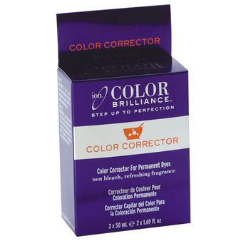 Ion Color Brilliance Color Corrector takes the permanent dye out of your hair and leaves your natural hair color behind, it has alot of great reviews, and I want to get my natural hair back and I think I want to try it! All the reviews all have one con that is smells bad but they say its worth it.