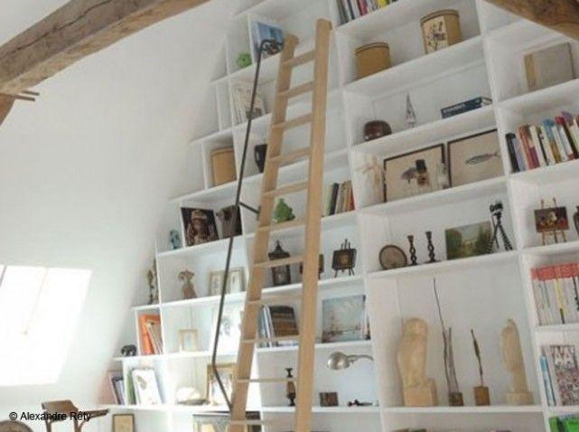 7 best Échelle bibliothèque images on Pinterest Book shelves